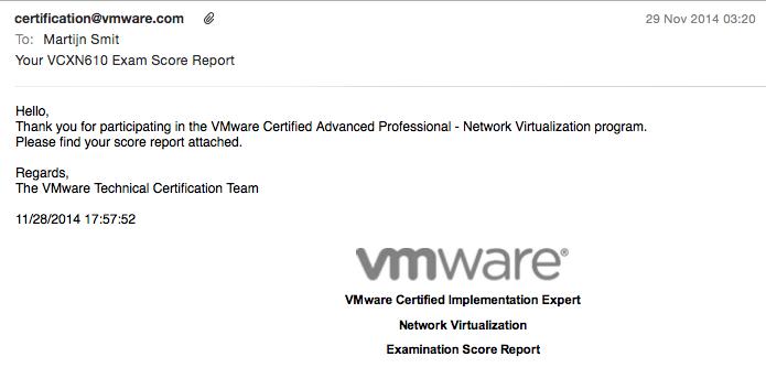 vcix-nv-score-report