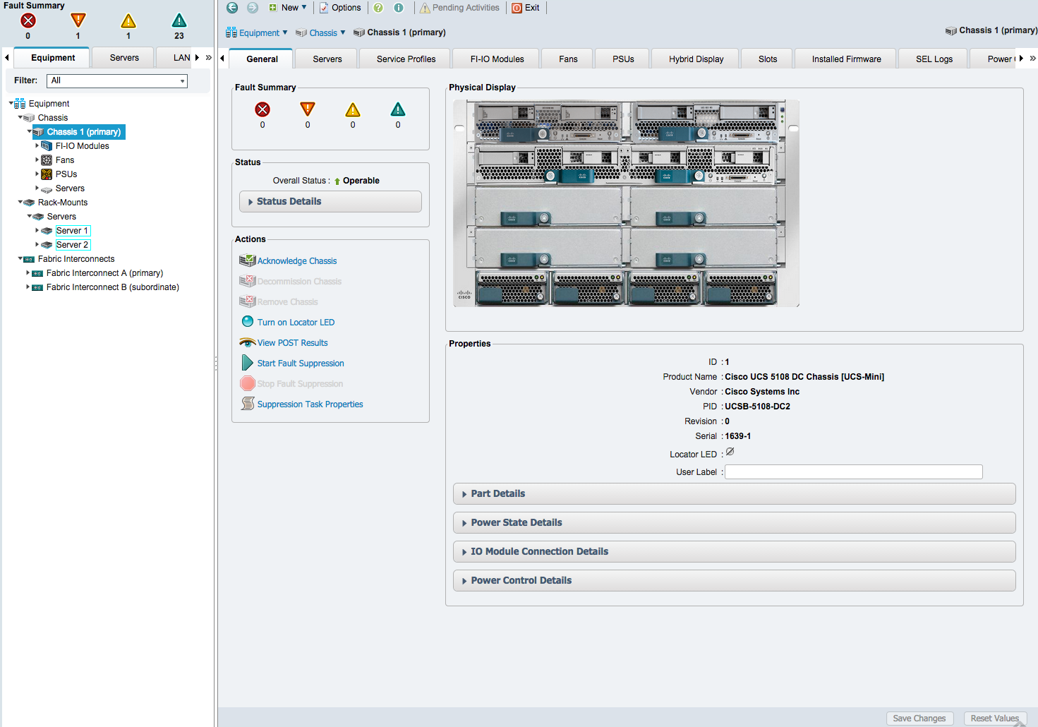 Cisco UCS Manager Finally gets HTML5 interface - Lostdomain