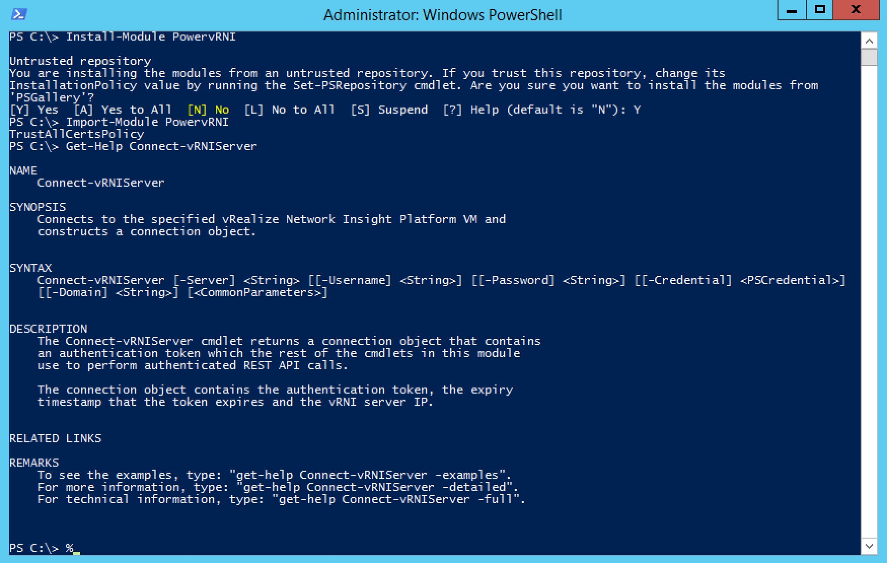 PowervRNI is now on PowerShell Gallery - Lostdomain