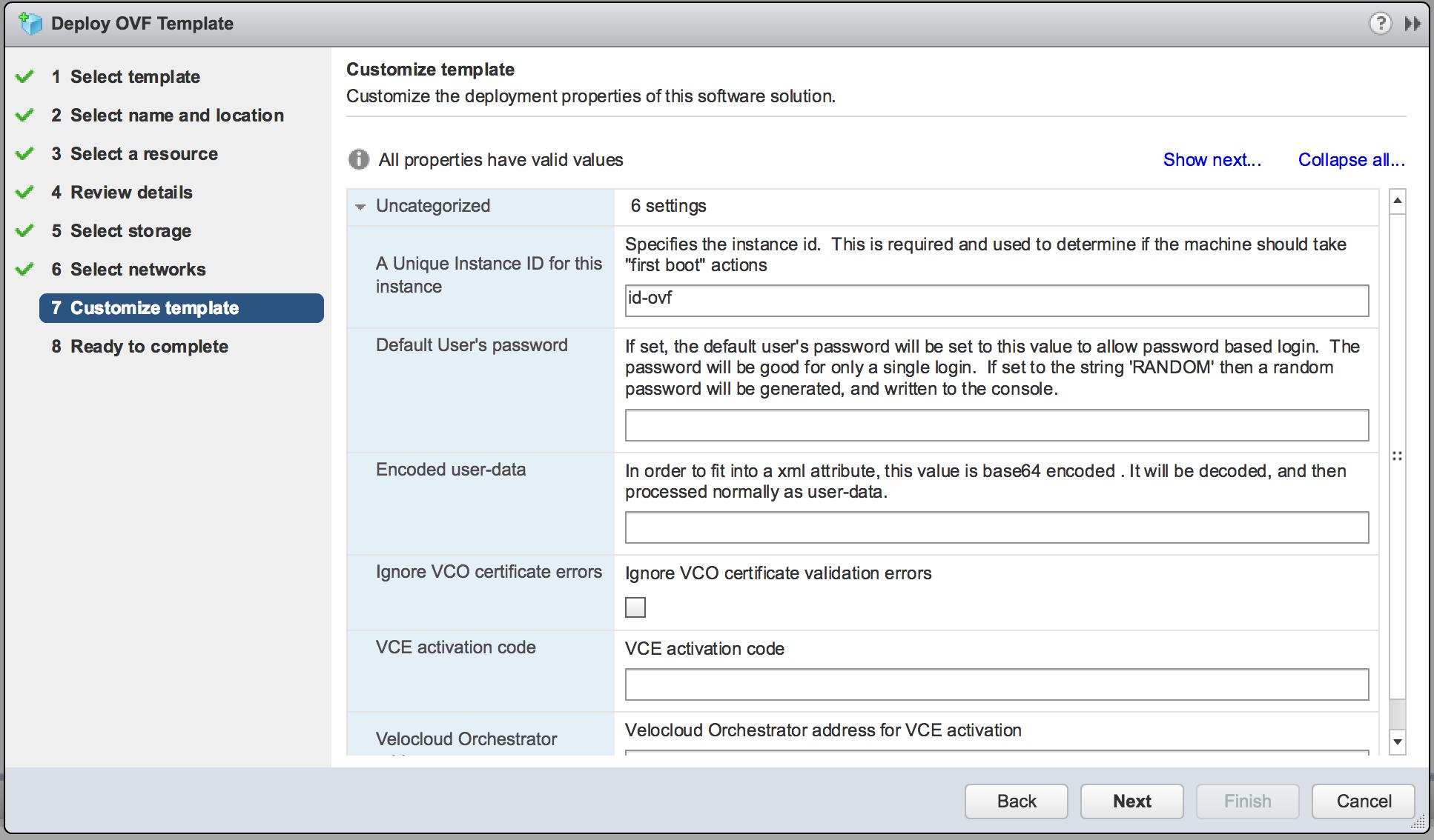 Deploying VeloCloud on VMware vSphere - Lostdomain