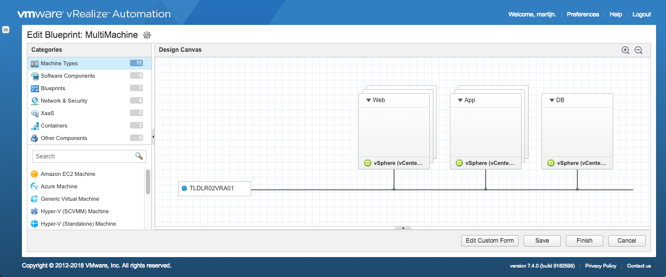 vRealize Orchestrator Workflow with vRA Event Broker to get